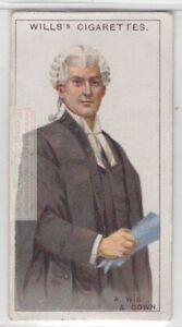 Wigs and Gown  English Courts Lawyers Judges Tradition 95+ Y/O Trade Ad Card
