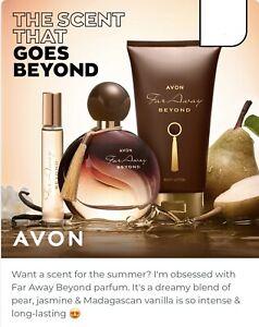 Avon Far Away BEYOND 3 Pce Gift Set,Brand New,(1st July) Free Postage.REDUCED!!