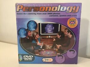Personology DVD  Game Family trivia quiz fun NEW & SEALED - FREE UK P&P