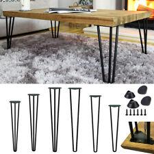 4x Hairpin Legs Tischbeine Haarnadelbeine Hairpinlegs Tischkufen Schreibtisch