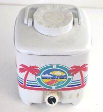Vintage Beach 1-2 Gallons Cooler Dispenser Beverage Holder White/Pink 80s
