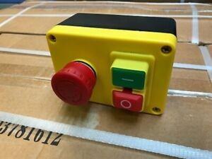 KEDU NVR Switch 230V 1ph E Stop DP