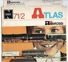 rivarossi   catalogo  atlas   71/2   con  listino  prezzi  settembre   1971