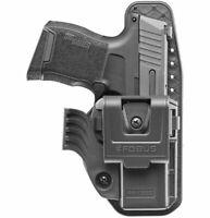 Fobus SP11B BH Right Hand Black BELT HOLSTER for Heckler /& Koch P2000SK New