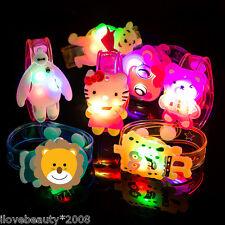 Children's Luminous Wrist Band Different Cartoon Characters Hand Ring Bracelet