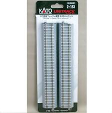 Kato 2-153 Rail Droit / Straight Track Concrete Tie Feeder 246mm 1pcs - HO