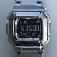 Rare CASIO G-Shock G-7800B (3163) Negative Screen World Time - FREE SHIPPING