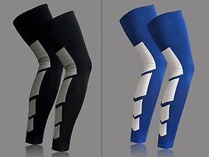 1Pair Compression Leg Calf Sleeve Brace Leg Stockings Tights Shin Support