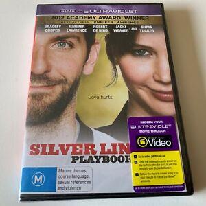Silver Linings Playbook (Jennifer Lawrence) (Australia Reg 4) DVD – New