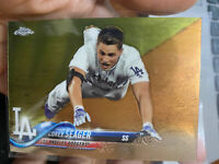 2018 Topps Chrome Corey Seager Los Angeles Dodgers