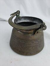 Great antique brass hanlded pot, middle-eastern