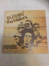 BOB MARLEY  & THE WAILERS - BURNIN' T.W. VINILE LP - PRIMA STAMPA - 1st press