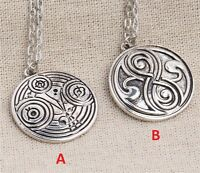 Collar Dr Doctor Who Colgante Necklace Whovian Gallifrey Dr Gallifreyan #1