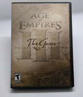 Age Of Empires III 3 Collector's Edition (PC Game) - 3 Discs