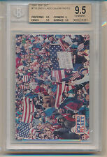 1991 Pro Set Football 2nd Place Color Photo (719) (Subs 1-9/3-9.5's) BGS9.5
