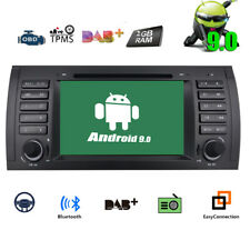 "Android 9.0 CAR DVD GPS Player Navigation 7"" Touch Screen Radio for BMW X5 E53"