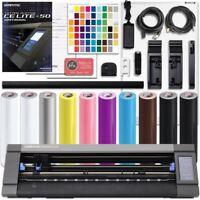 Graphtec CE-50 LITE - 20 Inch Vinyl Cutter & Plotter Bundle With Software