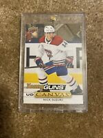NICK SUZUKI 19-20 UPPER DECK Series 1 YOUNG GUNS CANVAS RC  #C115 HOT!!