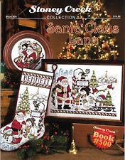 Santa Claus Lane by Stoney Creek BK500 Collectors Christmas cross stitch pattern
