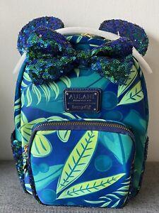 Disney Aulani Paradise Vibes Loungefly Backpack NWT with 5 Hidden Mickeys