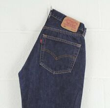 Vintage LEVI'S 501 Regular Straight Fit Men's Blue Jeans W28 L30