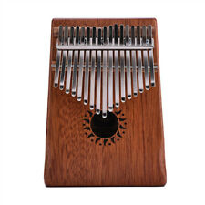 Gift 17 Keys Wooden Kalimba African Mahogany Thumb Piano Finger Percussion Music