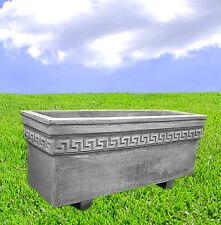 Pflanzschale Griechisch Kasten Blumenkübel Steinkübel Steinkunst BLACKFORM