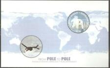 2014GREENLAND - SG MS752 - POLE TO POLE - JOINT ISSUE - UMM - POLAR BEAR/PENGUIN