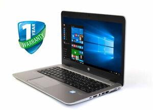 HP EliteBook 840 G3 14in Laptop i5 i7 6th Gen 16GB RAM 256GB 512GB SSD WebCam
