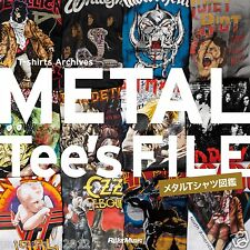 PHOTO BOOK METAL T-shirts Archieves VTG KIss METALLICA MOTLEY OZZY AEROSMITH
