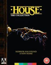 House The Collection 1 2 3 and 4 William Katt Region B Blu-ray Steve Miner