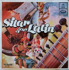 Sitar Goes Latin - Jayaram Acharya + Enoch Daniels Rare 1968 Indian LP.  Listen!