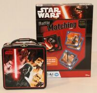 Star Wars Battle Matching Memory & Strategy Game Disney 2015 and Matching Lunch
