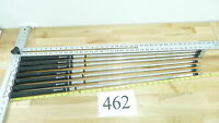 7 True Temper Dynamic Gold S-300 Iron Golf Club Shafts .355 Taylor Made Pullouts
