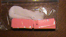 """100 Price Tags - Pink card stock - 2"""" x 3/4"""" Unstrung"""