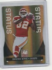 Dwayne Bowe  # 36  / 82  NEXT DAY SHIPPING Chiefs LIMITED CARD