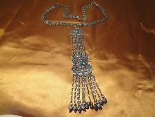 ANTIQUE OTTOMAN TURKISH ISLAMIC  SILVER NECKLACE