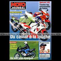 MOTO JOURNAL 1296 YAMAHA XJ 900 S DIVERSION, HONDA CBR 900 RR FIREBLADE 1997