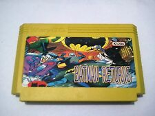 Batman returns - MEGA RARE Famicom Famiclone Nes Cartridge
