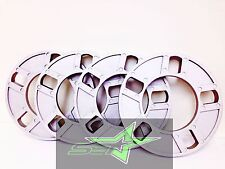 4 WHEEL SPACERS 1/2 INCH THICK FITS ALL 5X108, 5X4.25, 5X112, 5X120, 5X130,12MM
