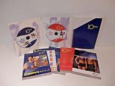 Tony Horton 10 Minute Trainer 2 DVDs 6 Workouts BONUS Literature