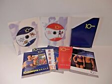 Tony Horton 10 Minute Trainer 2 DVDs 6 Workouts Power 90 Books Literature