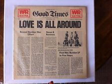 ERIC BURDON and WAR Love Is All Around LP