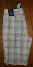 **NWT** IZOD stretch plaid Bermuda shorts WOMENS SIZE 10