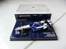 Williams Bmw FW24 Lanzamiento car 2002 Juan Pablo Montoya #6 Minichamps 1/43 F1