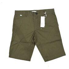 BNWT Adidas SLVR Embroidred Military Green Shorts Cargo Chino Pants M / L W34