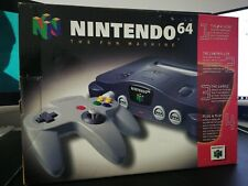 NS100 Nintendo 64 N64 Console In Box Purchase day April 29, 1997 | 4/26/97.