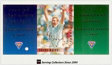 1994/95 Futera Cricket Trading Cards Signature Card SIG2:Shane Warne--Rare!!