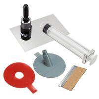 SIKEO Kit de reparation Premium Crack et pare-brise puce bricolage pare-bri J6N4