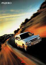 Mitsubishi Pajero SUV car (made in Japan, JDM) _2001 Prospekt / Brochure